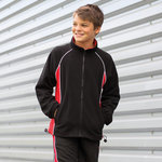 Kid's Piped Microfleece Jacket