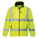 Lined Hi-Vis Mesh Lined Fleece