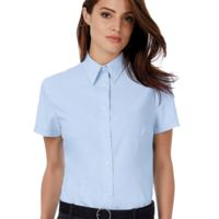 Ladies' Oxford Short Sleeve Shirt Thumbnail