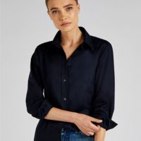 Ladies' Workwear Oxford Long Sleeve Shirt Thumbnail