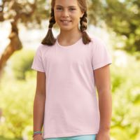 Fruit Of The Loom Girls Sofspun T-Shirt Thumbnail