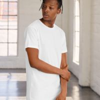 Canvas Mens Long Body Urban Tee Thumbnail