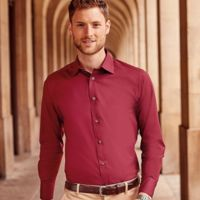 Russell Collection Long Sleeve Easy Care Fitted Shirt Thumbnail