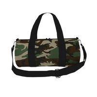 BagBase Camo Barrel Bag Thumbnail