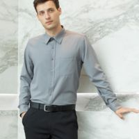 Henbury Long Sleeve Wicking Shirt Thumbnail