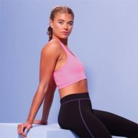 Girlie cool sports crop top Thumbnail