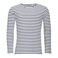 SOL'S Marine Long Sleeve Stripe T-Shirt Thumbnail