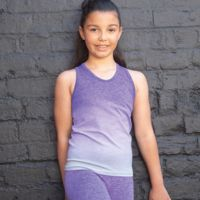 Tombo Kids Seamless Fade Out Vest Thumbnail