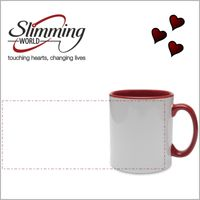 Slimming World Red Handled Personalised Mug Thumbnail