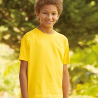 Fruit Of The Loom Kids Sofspun T-Shirt Thumbnail